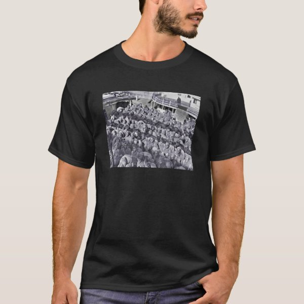 WWI Black Soldiers on Transport Ship T-Shirt
