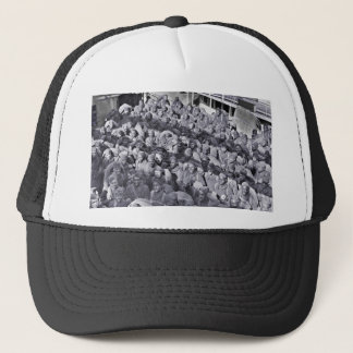 WWI Black Soldiers on Transport Ship Trucker Hat