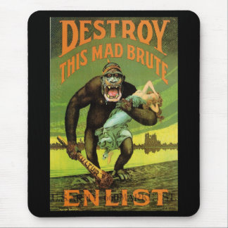 WWI Enlistment Ad Mousepad