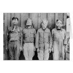 WWI Era Gas Masks, 1917