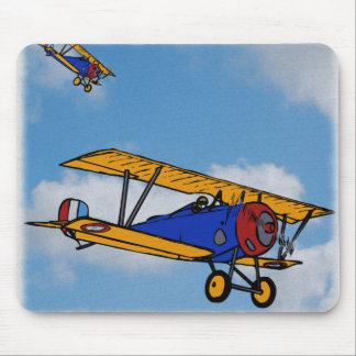 WWI Fighter Planes Mouse Pad