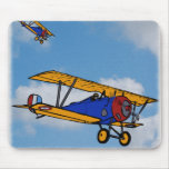 WWI Fighter Planes Mouse Pads