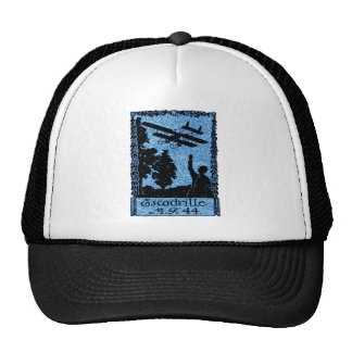 WWI French Air Service Poster Trucker Hat