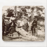 WWI French Artillery Unit Mouse Pad