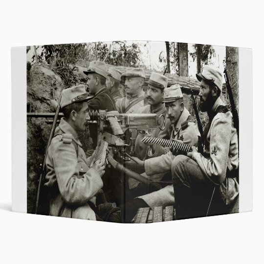 WWI French Machine Gun Crew Binder