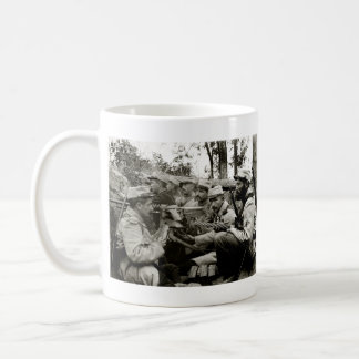 WWI French Machine Gun Crew Coffee Mug