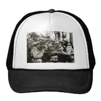 WWI French Machine Gun Crew Trucker Hat