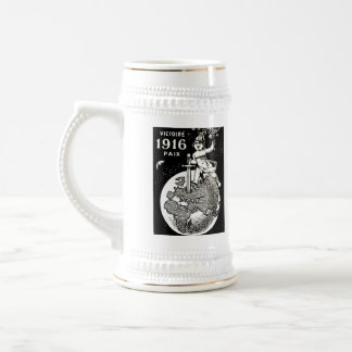 WWI French Victory Beer Stein