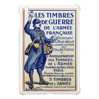 WWI French War Stamps Case For The iPad Mini