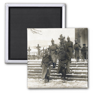 WWI German High Command 2 Inch Square Magnet