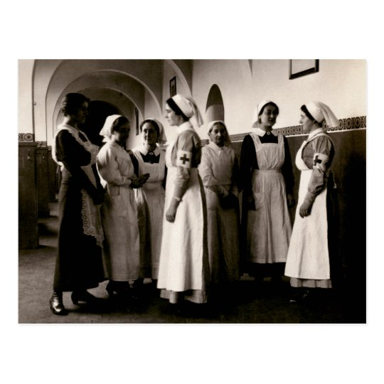 WWI German Nurses Postcard