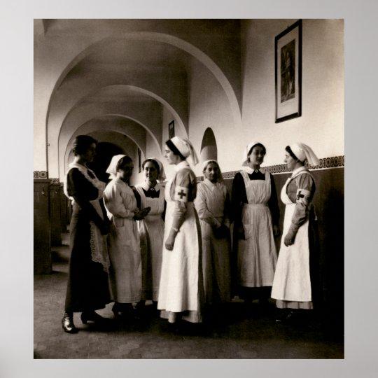 WWI German Nurses Poster