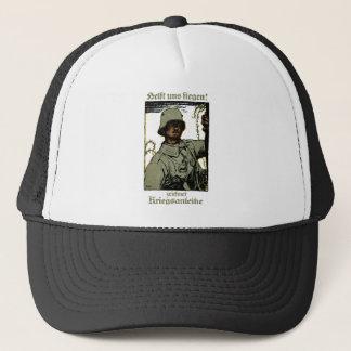 WWI German War Bond Poster Trucker Hat