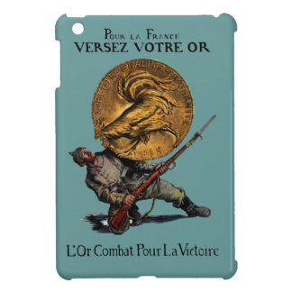 WWI Gold for French Victory iPad Mini Cover