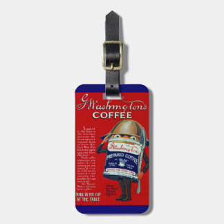 WWI Instant Coffee Ad Bag Tag