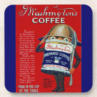WWI Instant Coffee Ad Coaster