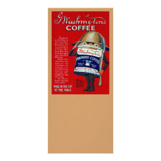 WWI Instant Coffee Ad Rack Card