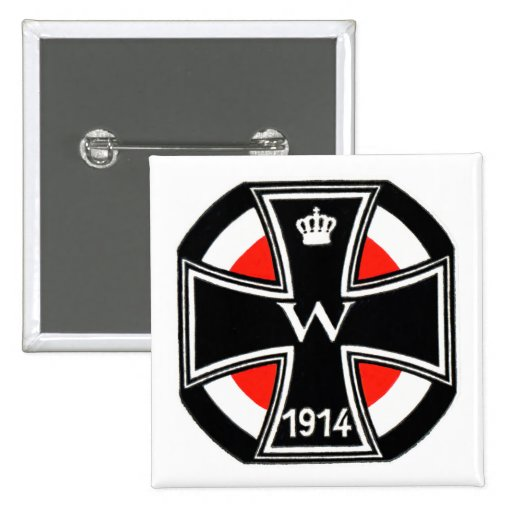 WWI Iron Cross Pinback Buttons