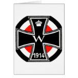 WWI Iron Cross Greeting Card
