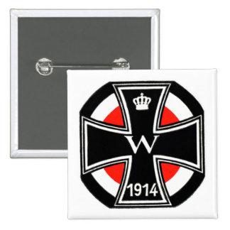 WWI Iron Cross Pinback Button