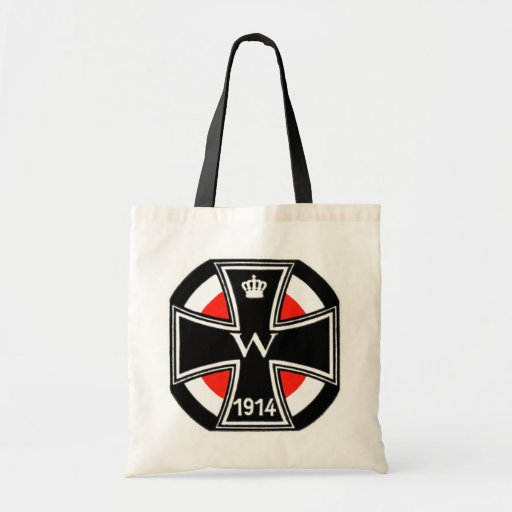 WWI Iron Cross Tote Bags
