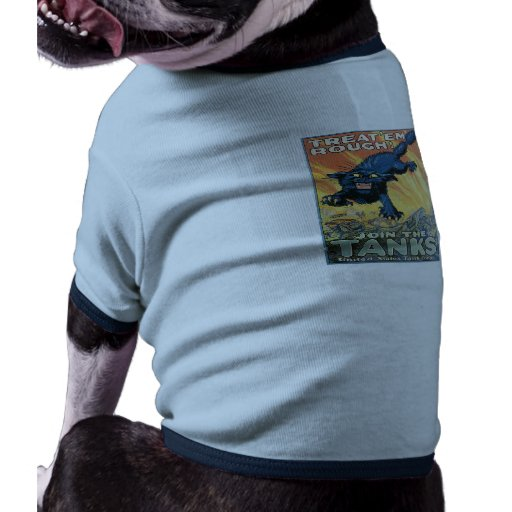 WWI: Join the Tanks Line Dog Tee