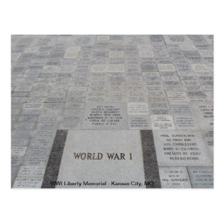 WWI Liberty Memorial 4 Post Card