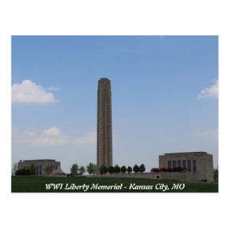 WWI Liberty Memorial Postcard