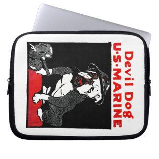 WWI Marine Corps Devil Dog Laptop Sleeve