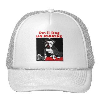 WWI Marine Corps Devil Dog Trucker Hat