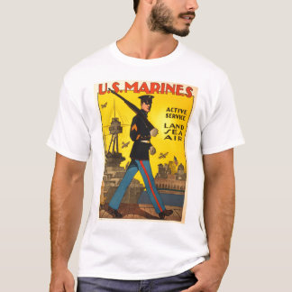 WWI Marine Recruiting Poster T-Shirt