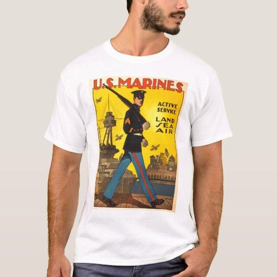 WWI Marine Recruiting Poster T-Shirt