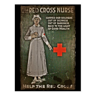 WWI Nurse Fund Raising Images Postcard