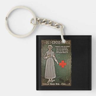 WWI Nurse Raising Funds Keychain
