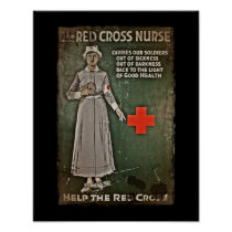 WWI Nurse Raising Funds Poster