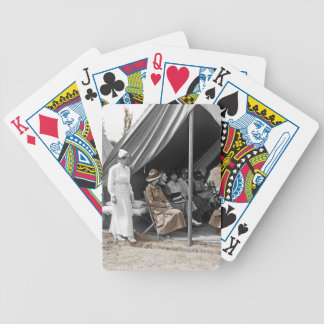 WWI Nurse Trainees Bicycle Playing Cards