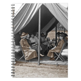 WWI Nurse Trainees Notebook