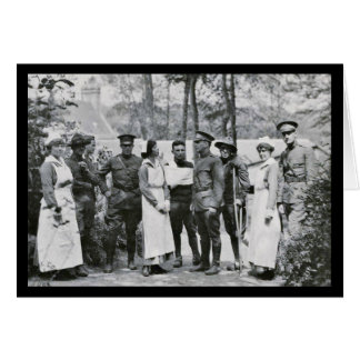 WWI Nurses and Doctors Card