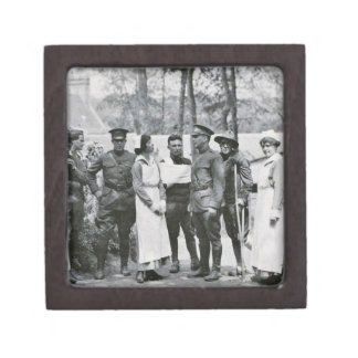 WWI Nurses and Doctors Jewelry Box