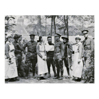 WWI Nurses and Doctors Postcard