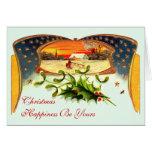 WWI Patriotic Christmas Greeting Card