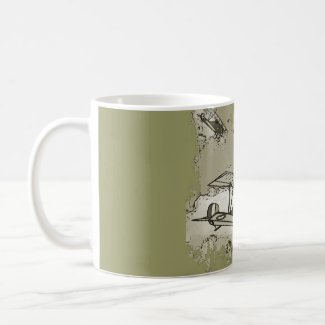 WWI Planes mug