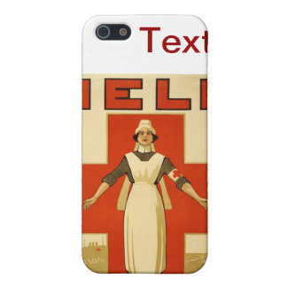 WWI Poster Red Cross Vintage Cover For iPhone SE/5/5s