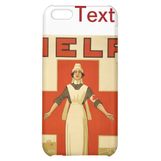 WWI Poster Red Cross Vintage Cover For iPhone 5C