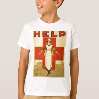 WWI Poster Red Cross Vintage T-Shirt