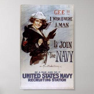 WWI propaganda poster War Effort