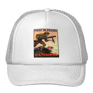 WWI US Marines Hats
