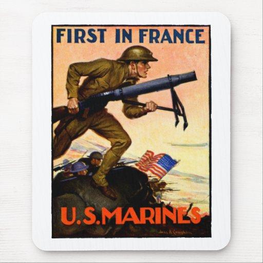 WWI US Marines Mousepads