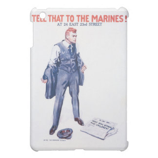 WWI Vintage US Marines Poster Case For The iPad Mini