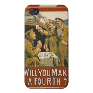 WWI Will You Make a Fourth? iPhone 4 Cover
